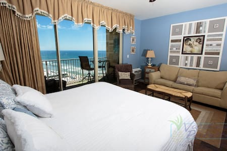 Cozy 12th Floor Studio @ Shores of Panama - Panama City Beach - Appartement en résidence