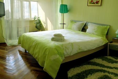 SuperCozy 2bedroom flat in 10min ride from centre - Kiew - Wohnung
