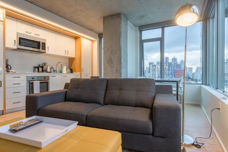 Ultra-Modern Downtown 1BD 9. 98 Walkscore - Seattle - Apartment