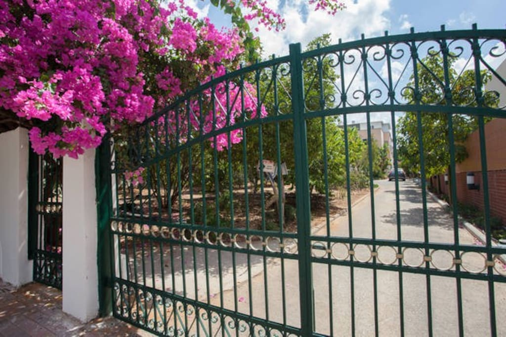 Front gate / car access & key less entry system  door
