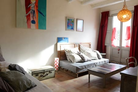 Double room at Artist's House - Camallera - Casa
