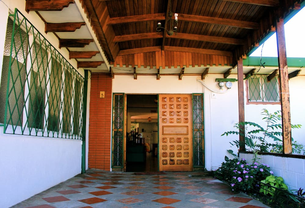 Main Entrance to Casa Kibi Kibi