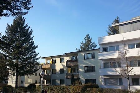 southwest 40qm studio full of light, suburb, green - Berlin - Daire