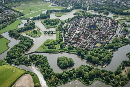 Charming house at ancient citywalls - Naarden