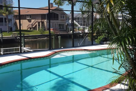 3 bed,private pool,on canal,kayaks - New Port Richey