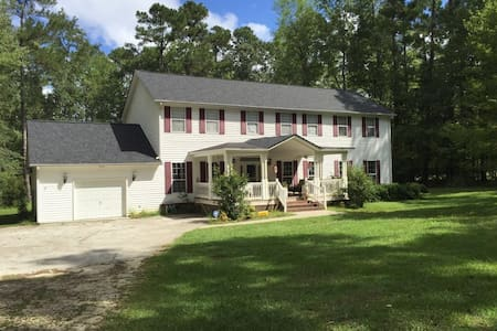 Summerville SC: Home on 3 acres and lakeside - Summerville - Casa