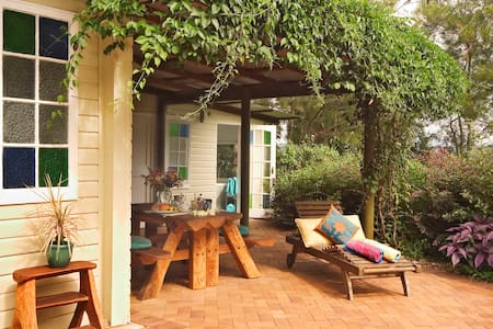 Garden Spa Cabin Mountain Views - Summer (Dec/Jan) - Bangalow