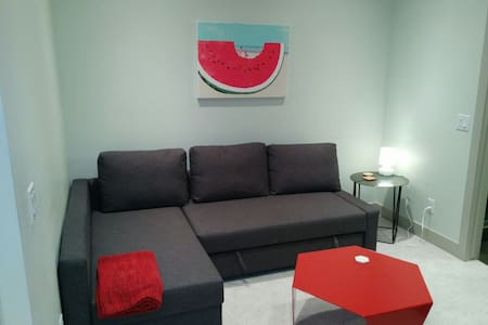 Modern Private Suite mins to D/T central location - Calgary - Apartment