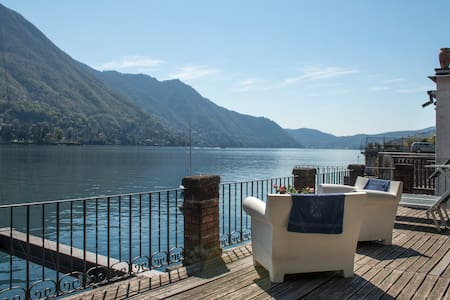 Villa Nina -  Camera delle Palme - Carate Urio - Bed & Breakfast