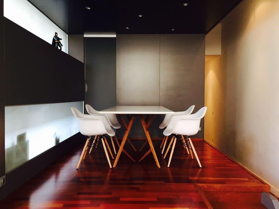 Salle à manger, équipement design