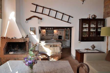 Authentic Farm btw Florence & Siena - Apartment
