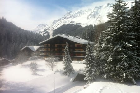 Cosy studio with balcony and view - 5th floor - Morgins
