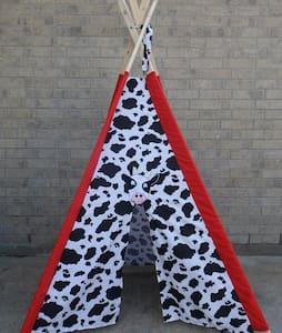 Cow tipi !FAKE LISTING! - Jordan Valley