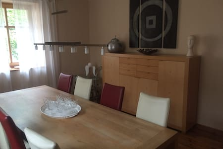 Ferienwohnung mit wunderschönem Fernblick - Apartment