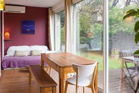 Chambre cosy dans un charmant rez de jardin - Marseille - Wohnung