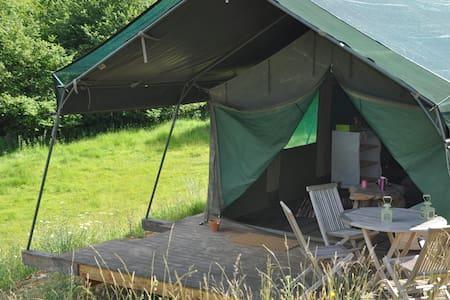 Tente safari au creux d'un vallon - Fatouville-Grestain - Tenda