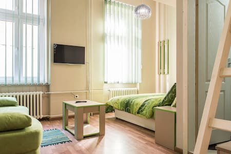 """This very new Luxury Apartment in heart of Novi Sad provide unforgettable stay in top center of all events and landmarks of this city! Located in famous street """"Laze Teleckog"""" well known as place of """"Young and Beautiful"""" will make your stay fulfilled"""