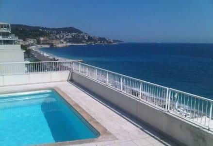 STUDIO prom des anglais,2 piscines - Nizza