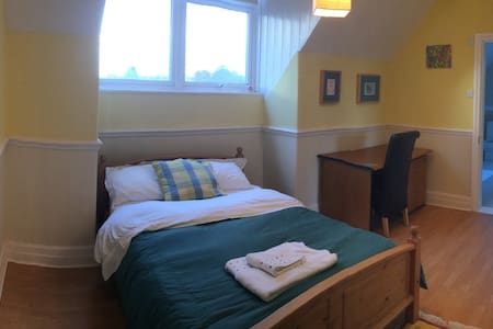 Double bedroom, with kitchenette near Christies - Manchester