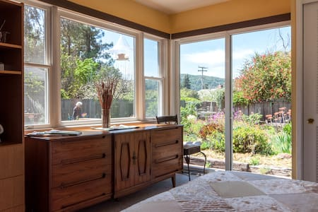Garden and Mountain View Room  - Mill Valley - Casa