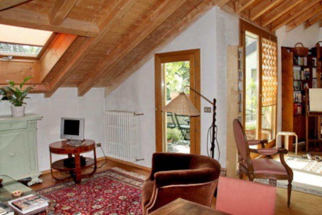 Sunny living-room