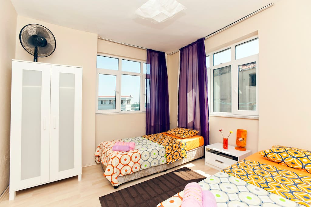 simple&clean with view in galata