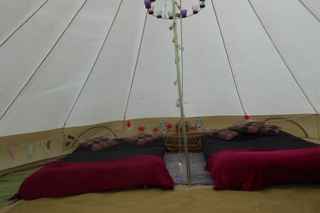The Valley Furnished Bell Tents   - Tent