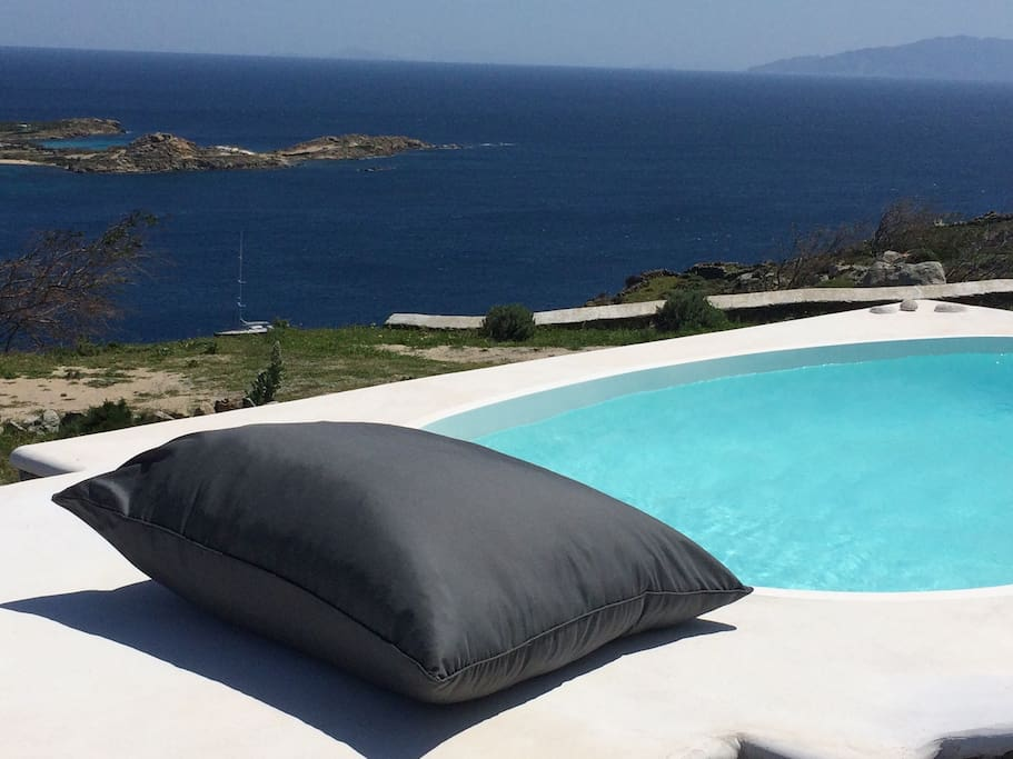 Psarou summer Villa in Mykonos
