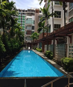 Cosy 2 BR Condo next to Beach & Sea - Singapore - Apartment