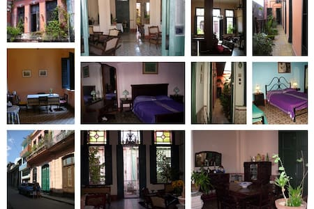 Colonial housing in Center Havana - Bed & Breakfast