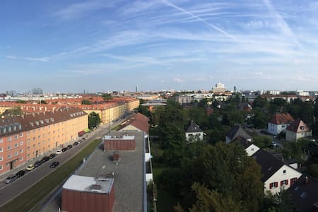 Beautiful View in Munich in Center - Apartament