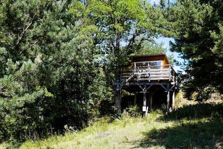 Les Cabanes de La Vigière (Chêne) - Chatka