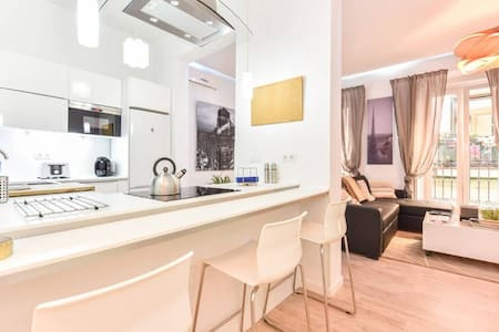 AC/WIFI Two bedrooms Sol-Jardines