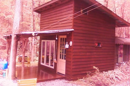 Art/ writers cabin on ten acres - Mebane - Cottage