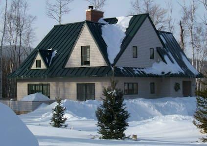 Cozy ski house, built for sustainability and fun - Ház