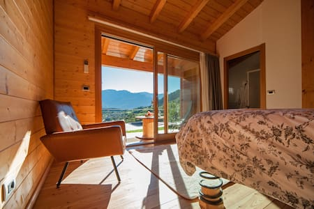 Camera matrimoniale con jacuzzi  - Angolo Terme - Bed & Breakfast