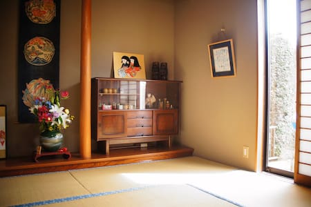 Tatami room in Tokyo Suburb - Yotsukaidō-shi