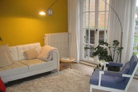 Bright apt. in historical centre