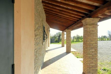 Quiet and panoramic Villa Uga - Poggio Mirteto