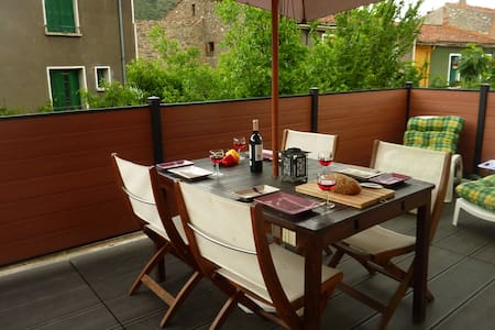 Lovely apartment, large terrace 2/4 - Ria-Sirach - Wohnung