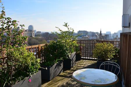 Large Appt 85m2  with 45M2  terrace - Paris - Apartment