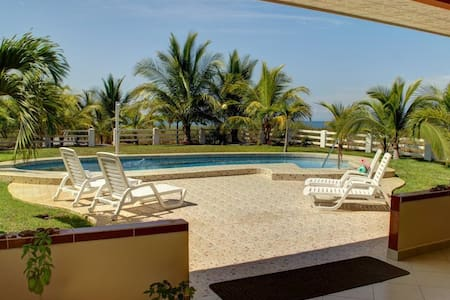Casa Tranquila:  Beachfront Home - Playa La Barqueta - House