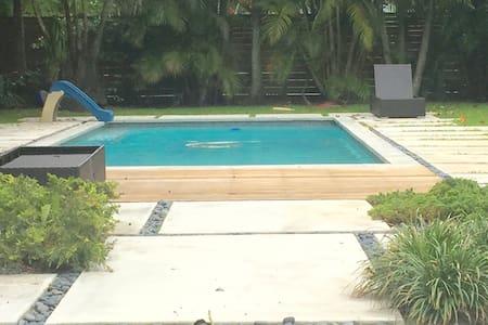 Zen tropical retreat 2 bedrooms - Miami