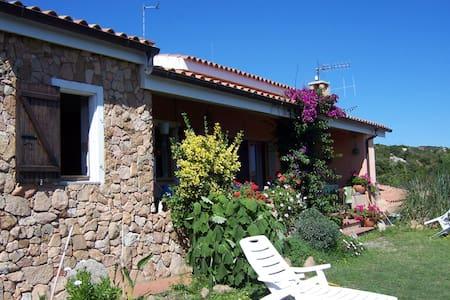 villa  nel verde  vista giardino - Cannigione - Bed & Breakfast