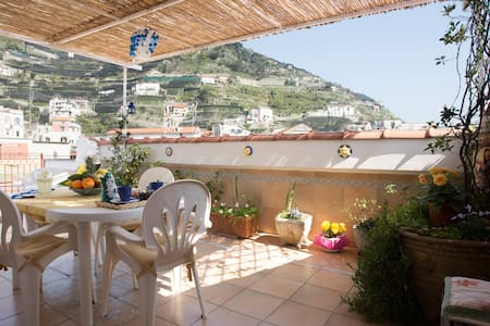 CASAZZURRA  IN AMALFI COAST -MINORI - Apartment