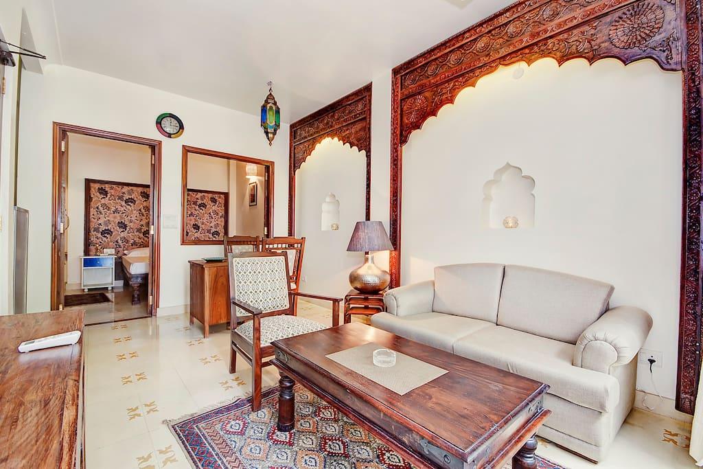 Heritage Apt 1@Hauz Khas Village