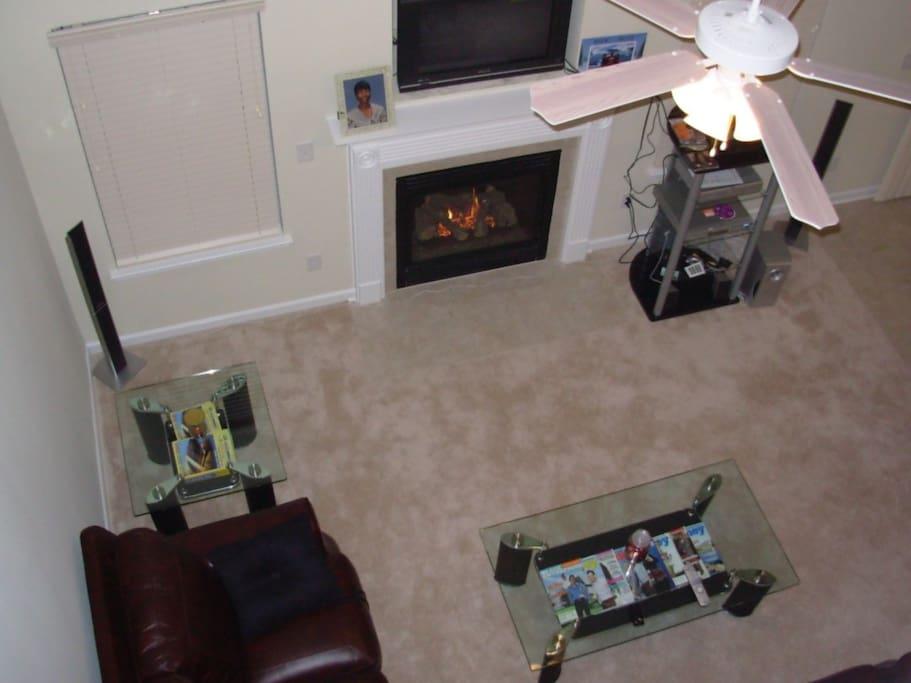 Living Room from Catwalk