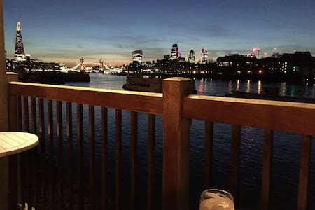 Large double in central London by the Thames - Londen - Appartement