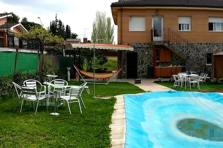 Holiday House 40km from Madrid - Calalberche - Chalet