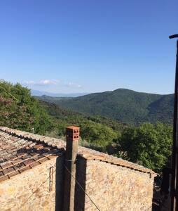 Casa Storica Nel Borghetto Toscano - Hus